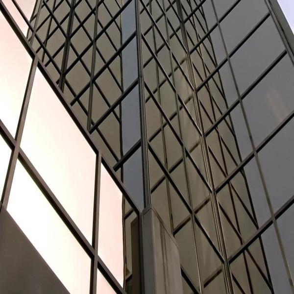 Sonnenschutzfolie Bronze Dunkel Aussenmontage (Rollenbreite 152cm)